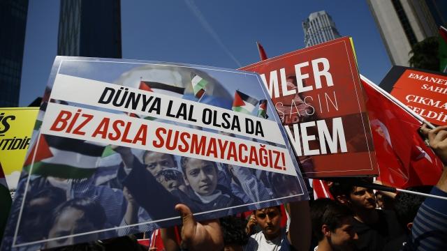 The Latest: Israeli military sends aid to Gaza
