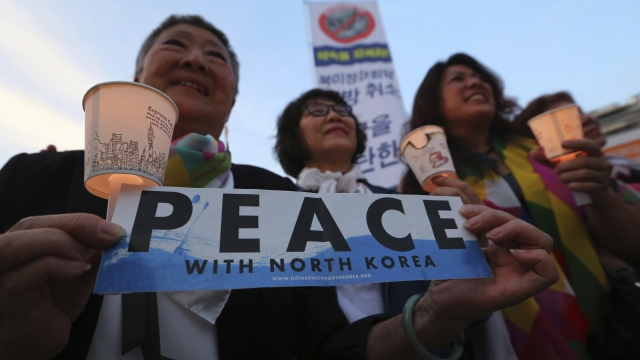 The Latest: North and South Korean leaders meet again