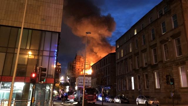 Beloved Glasgow School of Art badly damaged by a 2nd fire