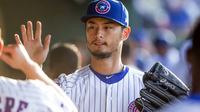 Darvish heads to Texas for opinion on sore triceps muscle