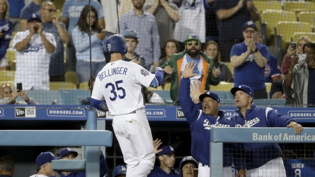 Dodgers hit 3 homers for 51 in June, beat Cubs 7-5