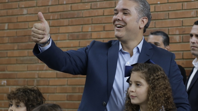 Hawkish Duque poised to become Colombia's next president