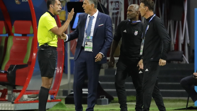Iran coach lambasts World Cup use of VAR on close calls