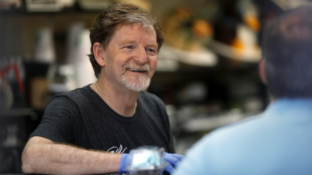 Justices side with Colorado baker on same-sex wedding cake