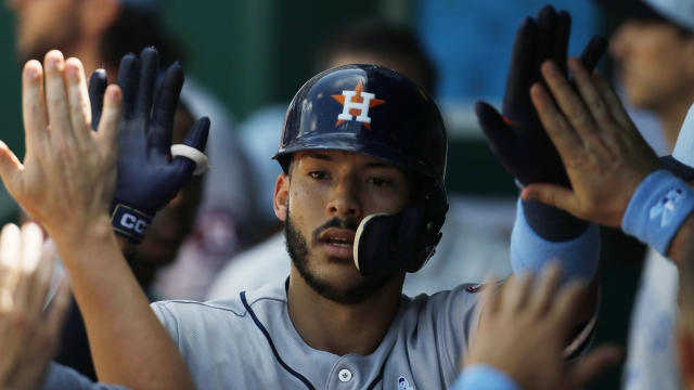 LEADING OFF: Astros go for team record-tying 12th win in row