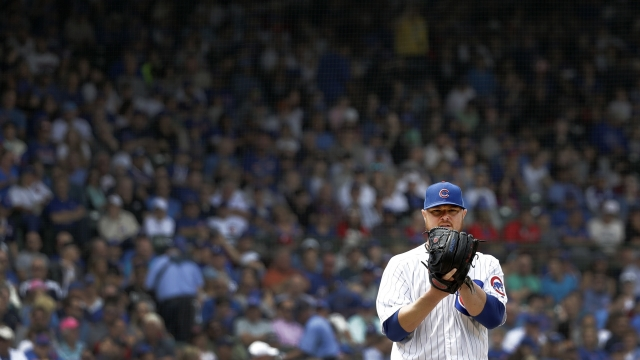 Lester wins 5th straight start, Cubs beat Dodgers 4-0