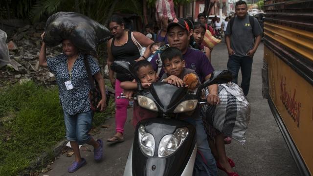 New evacuations near Guatemala volcano set off panic