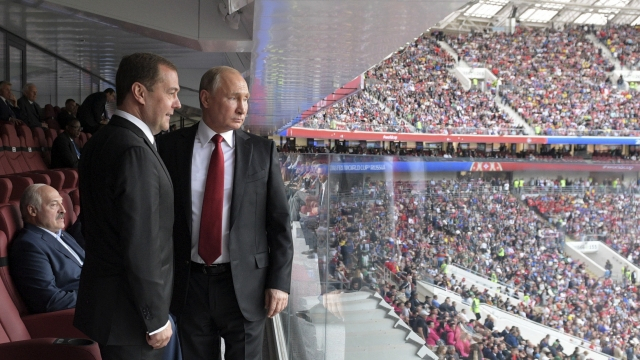 Russian hopes, fears tied up in Putin's showcase World Cup
