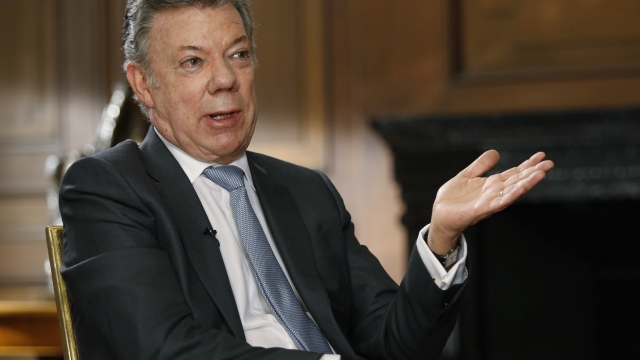 Santos sees Colombia peace deal safe under hawkish successor