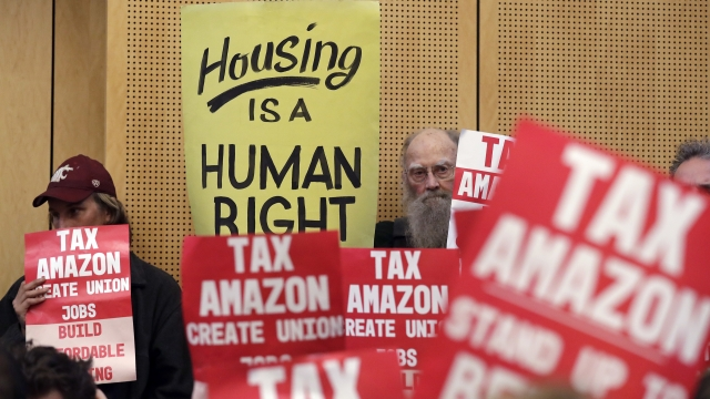 Seattle to repeal  homeless-aid tax after Amazon objects