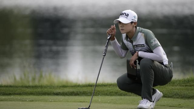Sung Hyun Park shoots 66 to take KPMG Women's PGA lead