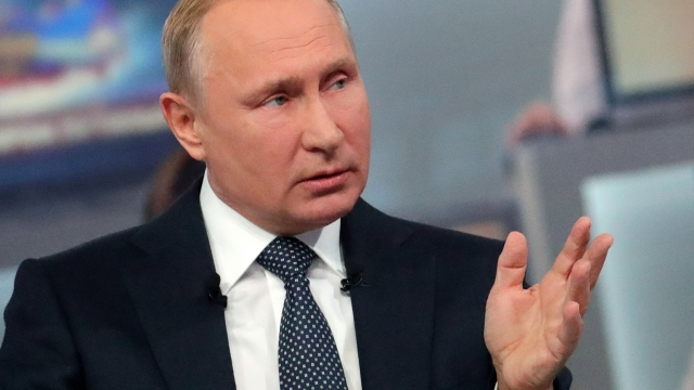 The Latest: Putin says 'always thinking' about successor