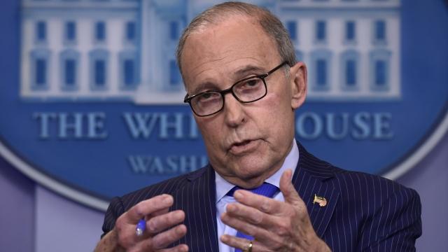 Trump: Economic adviser Larry Kudlow suffers heart attack