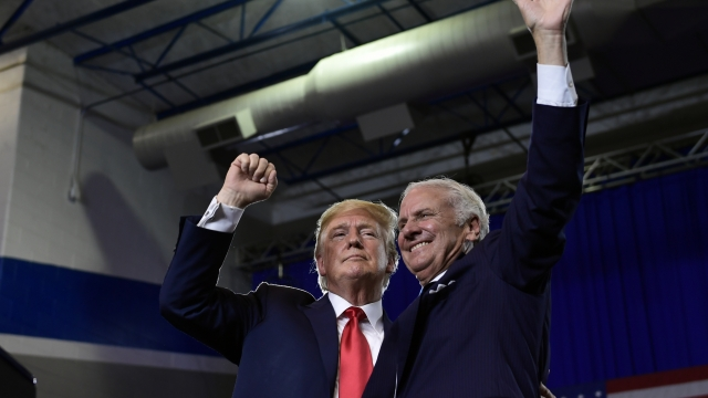 Trump makes runoff election for SC governor about him, too