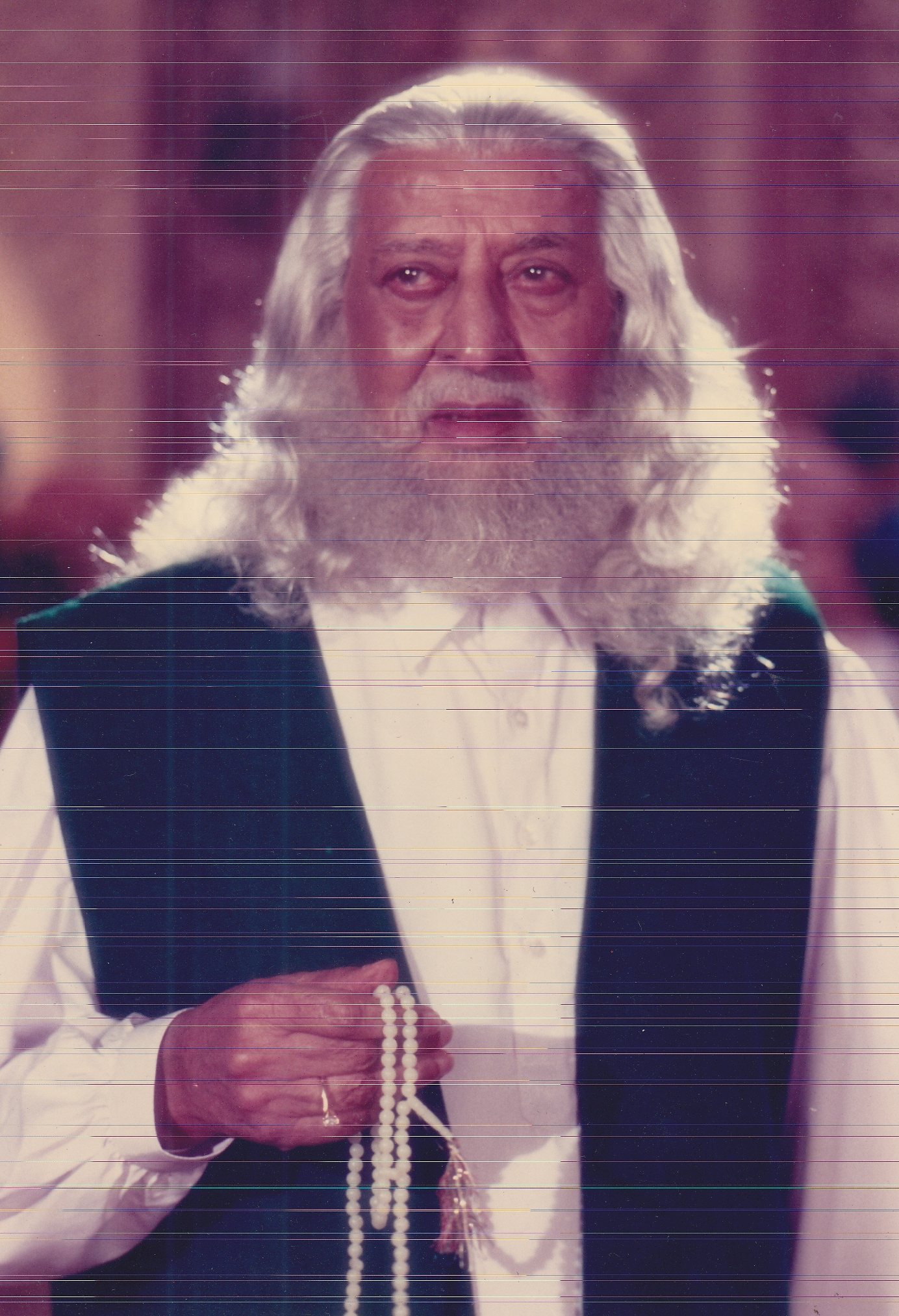 Pran Sahab in Sanam Bewafa (1990)