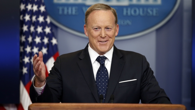 Black man accuses Sean Spicer of hurling racial slur at him
