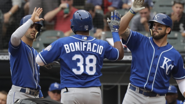 Bonifacio homers as Royals beat White Sox 5-0