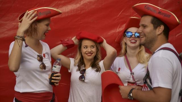 'Chupinazo' firework launches Pamplona bull racing festival