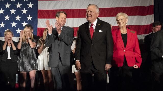 Georgia governor's race: GOP attacks, Dems bob and weave