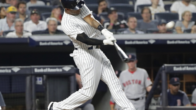 Hicks hits 3 HRs, Yankees rout Red Sox 11-1 to win series