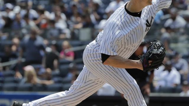 JA Happ dominant in winning Yankees debut, 6-3 over Royals