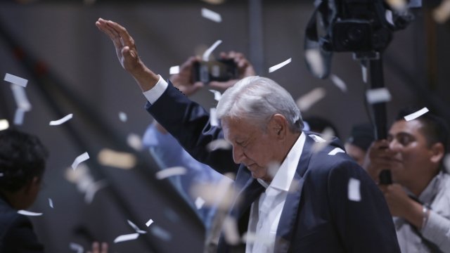 Mexico gives leftist Lopez Obrador big presidential win