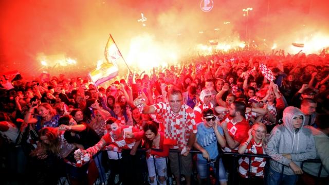 Mixed emotions in Balkans over Croatia's World Cup success