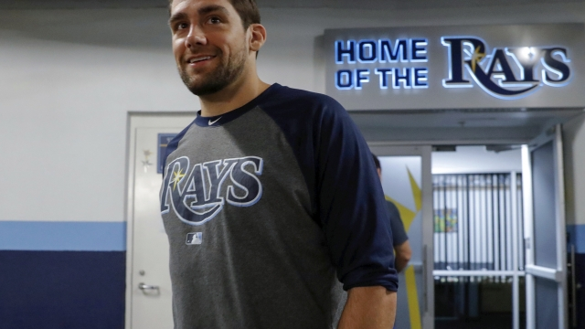 Red Sox obtain RHP Eovaldi from Rays for minor league LHP