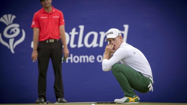 Stone wins Scottish Open, misses 1st 59 on European Tour