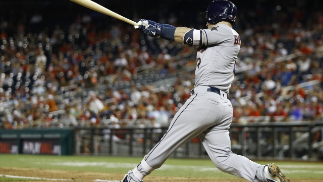 The Latest: Bregman, Springer homer back-to-back in 10th