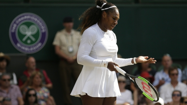 The Latest: Frustrated Williams surprises Kerber's coach