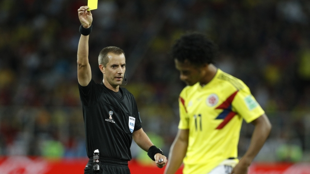 The Latest: US ref Geiger retained for rest of World Cup