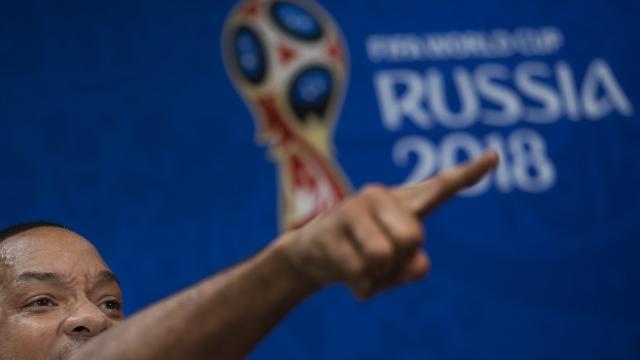 The Latest: Will Smith shares some love for Ronaldo, Neymar