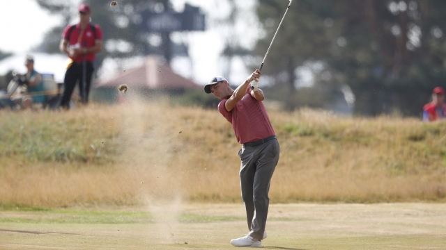The Latest: Willett back in form at Carnoustie
