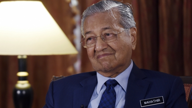 AP Interview: Malaysia's Mahathir aims to scrap China deals