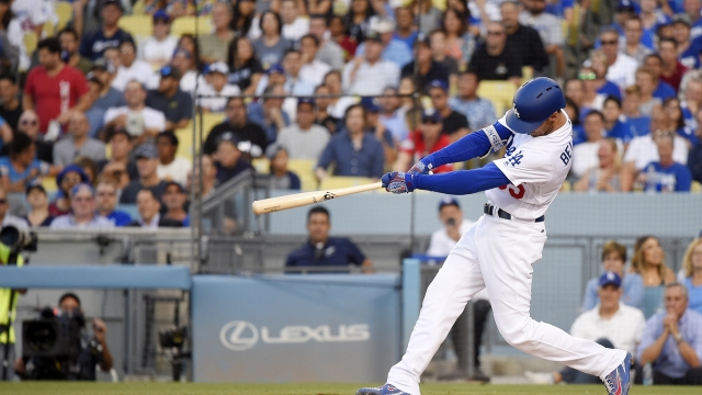 Bellinger, Pederson, Puig power Dodgers in rout of Brewers