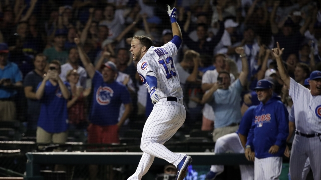 Bote's grand slam in 9th lifts Cubs over Nationals 4-3