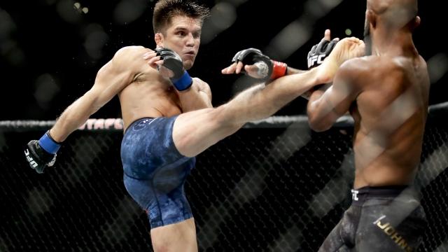 Cejudo upsets Johnson, Dillashaw stops Garbrandt at UFC 227