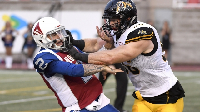 Johnny Football? Manziel off-target in CFL debut