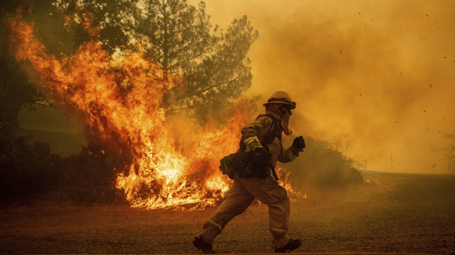 New fires erupt in Northern California; homes threatened