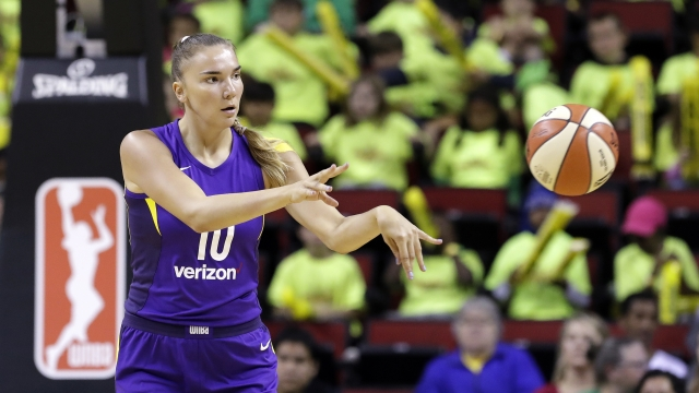 Russian star Maria Vadeeva enjoying time in WNBA with Sparks