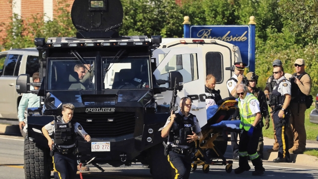 Shooting in Canadian city leaves 4 dead, including 2 police