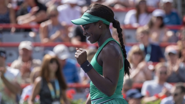 Sloane Stephens reaches Rogers Cup semifinals