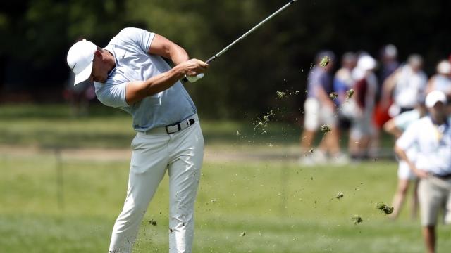The Latest: Matt Wallace aces par-3 16 at PGA